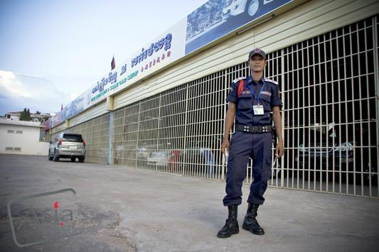 Photo story - Feeling Safe? Cambodia security
