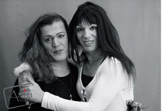 Photo story - Travesti Istanbul- Perla Salon Portraits